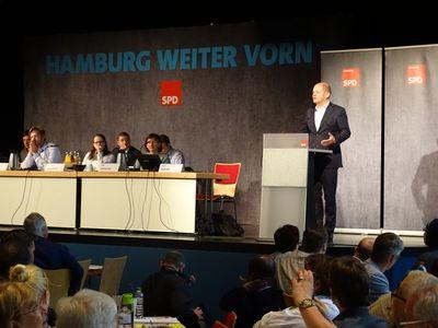 Rede des Landesvorsitzenden Olaf Scholz